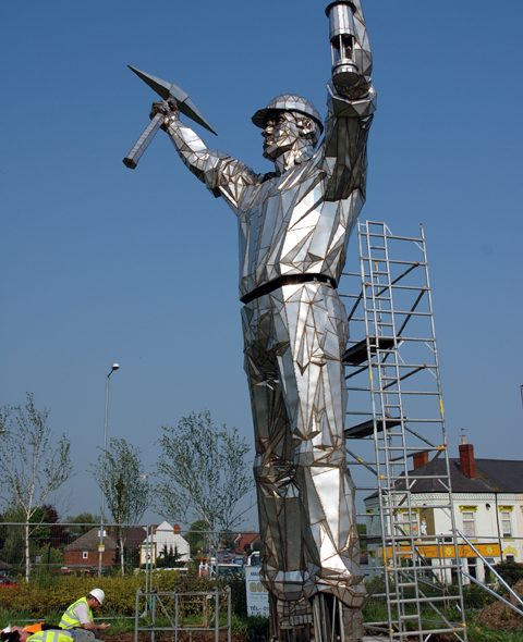Public Art & the Brownhills Miner